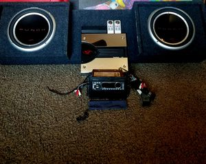 All Rockford Fosgate complete car stereo system. for Sale in Fresno, CA