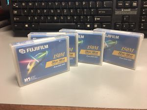 NEW - Lot 4 FujiFilm DDS4 Data Tape 20/40GB for Sale in Falls Church, VA