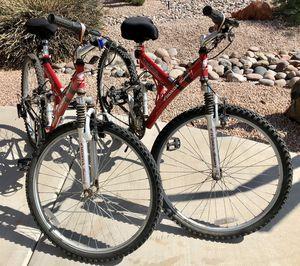 2 Full Suspension Mountain Bikes for Sale in Chandler, AZ