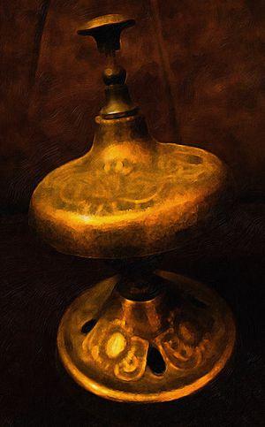 Antique Brass Desk Bell for Sale in Chandler, AZ