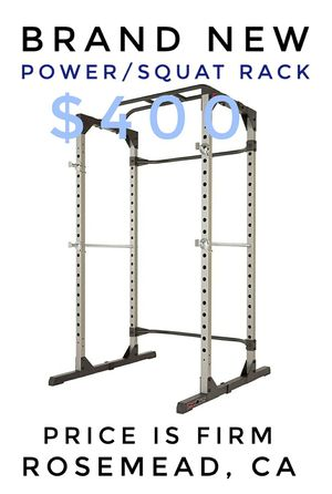 ProGear 1600 / Fitness Reality Super Max Power Cage Full Squat Rack Bench Press, bench sold separately for Sale in Rosemead, CA