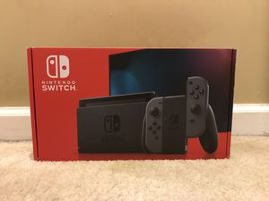 Nintendo Switch V2 with Gray Joy-Cons for Sale in Ashburn, VA