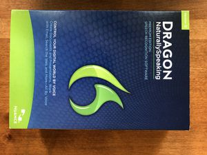 Dragon Naturally speaking with headset for Sale in Centreville, VA