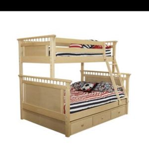 Twin Over Full Bunk Bed for Sale in Madera, CA