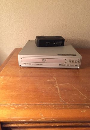 Portable DVD Player with Converter and Connection Cables for Sale in Sacramento, CA