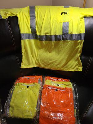Cotton Fire retardant reflector shirts for Sale in Baton Rouge, LA