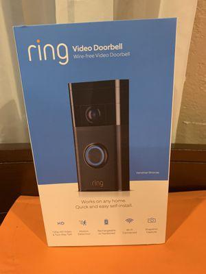 Ring Video Doorbell for Sale in Industry, CA