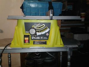 "RYOBI TABLE SAW 10"" for Sale in Fort Worth, TX"
