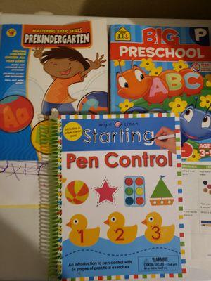 3 Preschool work books for Sale in West Linn, OR