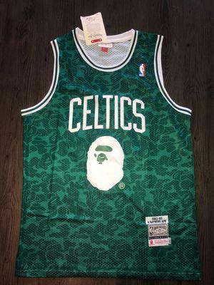 Medium, Large Boston Celtics #93 Bape Jersey (1) MCM for Sale in Dallas, TX