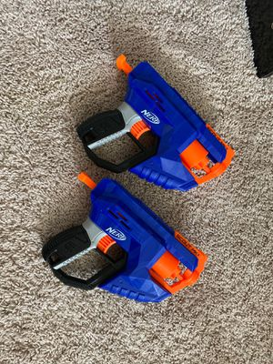 2 NERF GUNS for kids for Sale in Moreno Valley, CA
