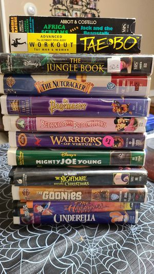 Vhs movies for Sale in Buffalo, NY