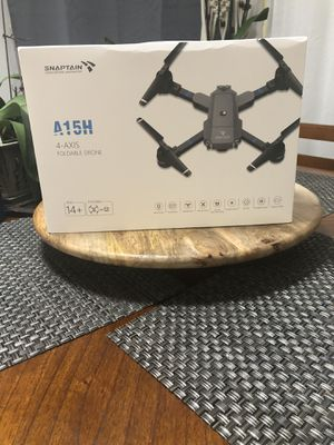 🌟🔥SNAPTAIN Foldable FPV WiFi Drone w/Voice Control/120°Wide-Angle 720P HD Camera/Trajectory Flight/Altitude Hold/G-Sensor/3D Flips/Headless Mode/One for Sale in Lake Worth, FL