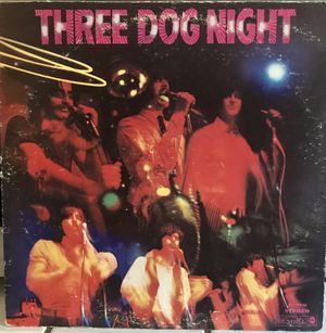 Vintage Three Dog Night Self Titled LP Record 1969 for Sale in Clovis, CA