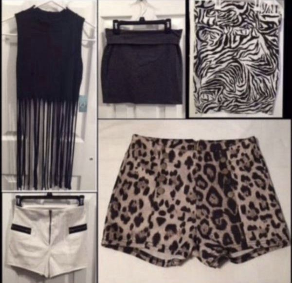 Fringe Top, Bodycon Miniskirt, High Waist Belted Pencil Skirt, High Waisted Shorts
