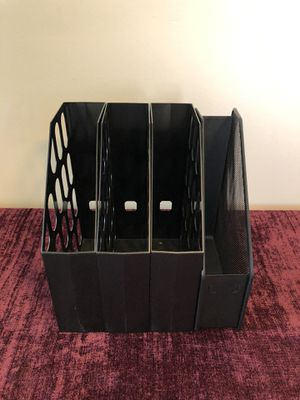Set of 4 vertical file organizers for Sale in Hollywood, FL