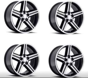 """18"""" 20"""" 22"""" Inch IROC Rims Wheels Black Machine Finish BRAND NEW In Stock Pricing Starting @ $174 Each for Sale in Huntington Beach, CA"""