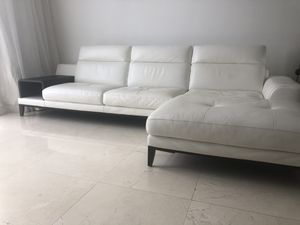 Italian leather couch for Sale in Miami Beach, FL