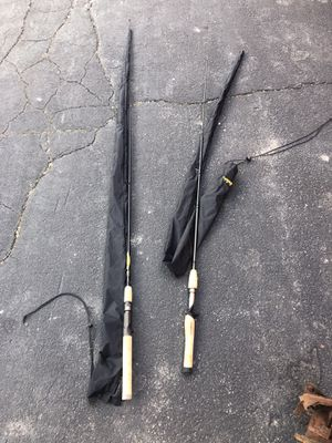 Lot of fishing rods and reels for Sale in Roseville, MI