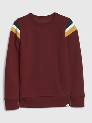 GAP kids shoulder stripe sweatshirt. Red. for Sale in Irvine, CA