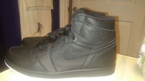 Nike Air Jordan 1 Retro Hi OG Black White Perforated 555088-002 Msrp $160 for Sale in Lexington, KY