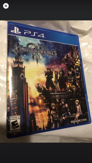 Kingdom hearts 3 PS4 for Sale in Santee, CA