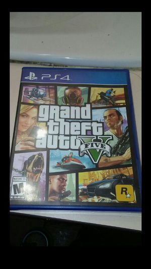Gta 5 ps4 for Sale in Long Beach, CA