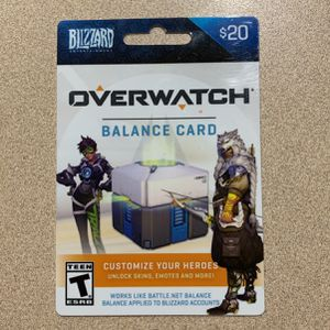 $20 Overwatch Card for Sale in Miami, FL