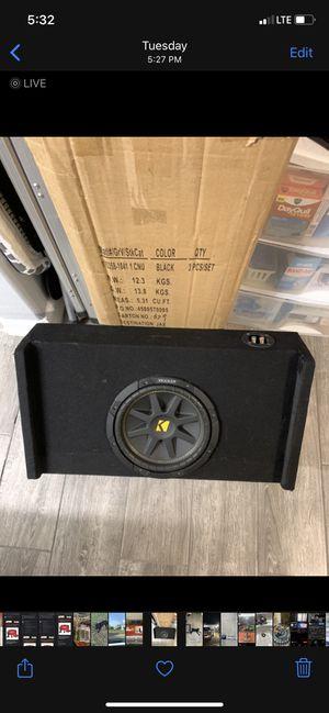 10in Kicker comp for Sale in McAllen, TX