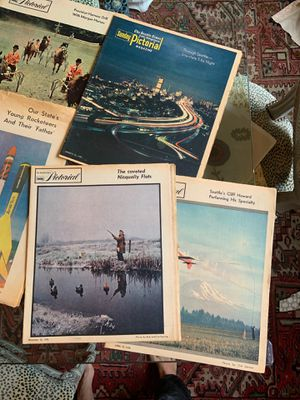 Vintage Seattle times magazines pictorial - set of 12! for Sale in Seattle, WA