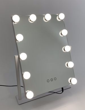 Vanity Mirror Double Sided 12 Bulbs for Sale in Costa Mesa, CA