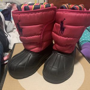 Ralph Lauren Toddler Snow Boots for Sale in West Covina, CA