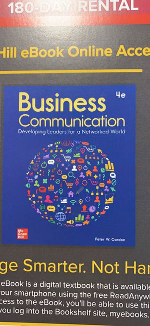 Business Communication ebook ACCESS CODE for Sale in Miami, FL