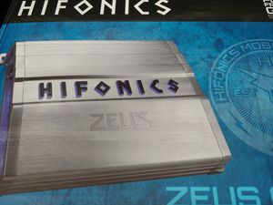 Car amplifier : HIFONICS 600 watts 4 channel built in crossover 40 ×1 fuse ( brand new ) for Sale in Bell Gardens, CA