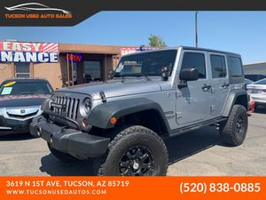 2013 Jeep Wrangler Unlimited for Sale in Tucson, AZ