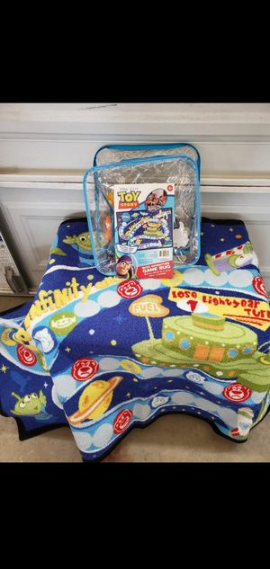 Disney Pixar Toy Story Game Rug $23.00 for Sale in Gardena, CA