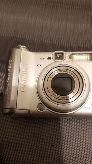Canon Powershot A520 Digital Camera for Sale in Austin, TX