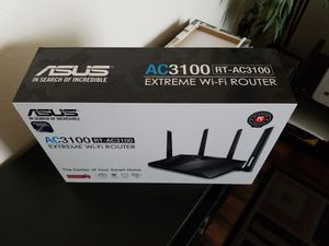 ASUS AC3100 EXTREME WIFI ROUTER for Sale in Houston, TX