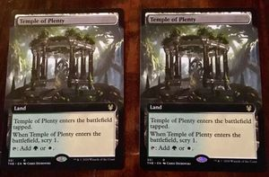 MtG Temple of Plenty *borderless for Sale in Tempe, AZ