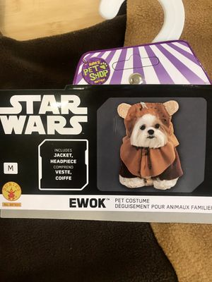 Official Star Wars Ewok Costume Outfit Dog Size Medium Halloween for Sale in Redondo Beach, CA
