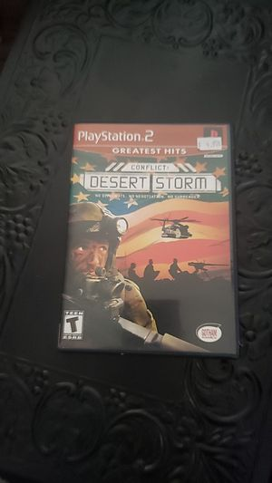 ps2 greatest hits conflict desert storm for Sale in Littleton, CO