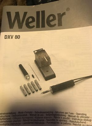 Weller DXV 80 DESOLDERING IRON for Sale in Livermore, CA
