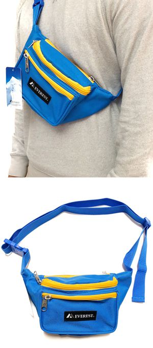 NEW! Waist / Shoulder Side Bag rave fanny pack crossbody Los Angeles rams warriors bag waist pack music Festival pouch for Sale in Carson, CA