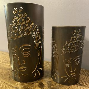 Buddha Mantle Candle Holder Candle/Flameless Cylinder Decorative Holder for Sale in Haledon, NJ