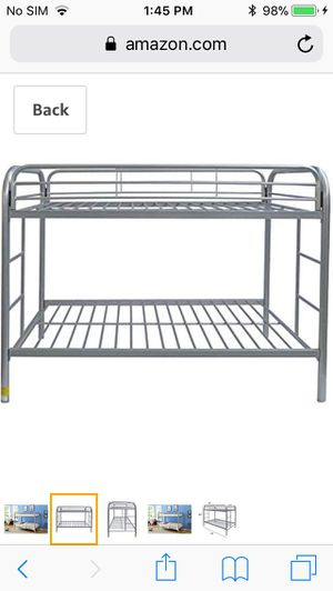 Brand New Still in Box. ACME Furniture 02188SI Thomas Bunk Bed, Twin, Silver for Sale in Los Angeles, CA