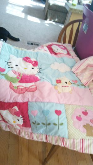 Hello kitty crib set for Sale in Ailey, GA