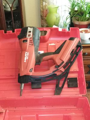 GX120 HILTI. Gas ACTUATED Nail Gun for Sale in Lecanto, FL