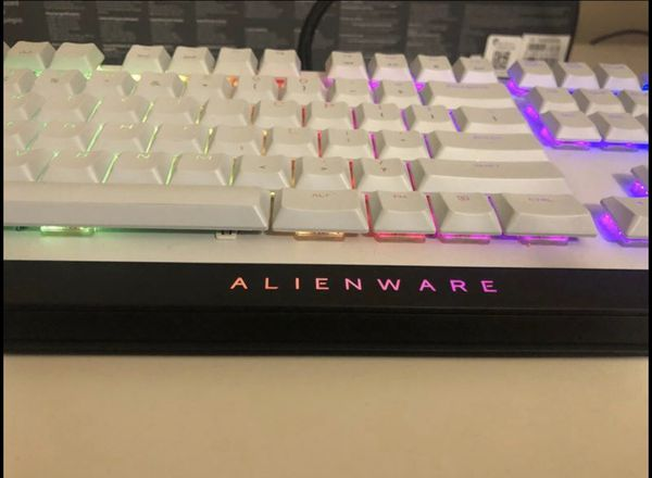 Alienware aw510k cherry red low profile