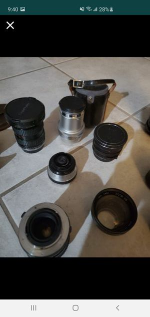 Camera lenses for Sale in Escondido, CA