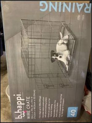 Like new dog crate for Sale in Texas City, TX